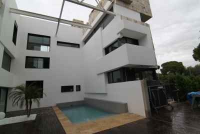Contemporary house with a big yard and walking distance to the beach in province of Barcelona